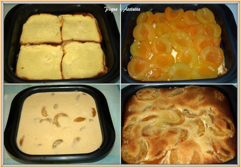 g 194 teau fond brioch 201 aux abricots inratable pique assiette