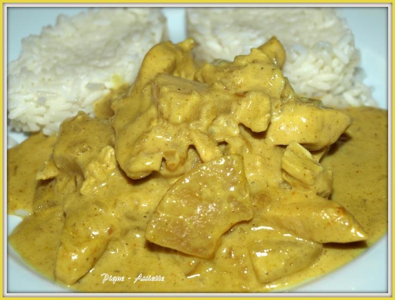 Poulet Coco Curry Et Ananas Ronde Interblogs N 36 Pique Assiette