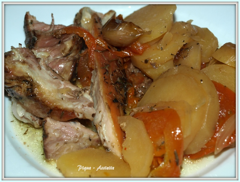 Recettes en mijoteuse pique assiette - Cuisiner rouelle de porc en cocotte minute ...