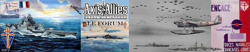 Axis & Allies Naval Miniatures