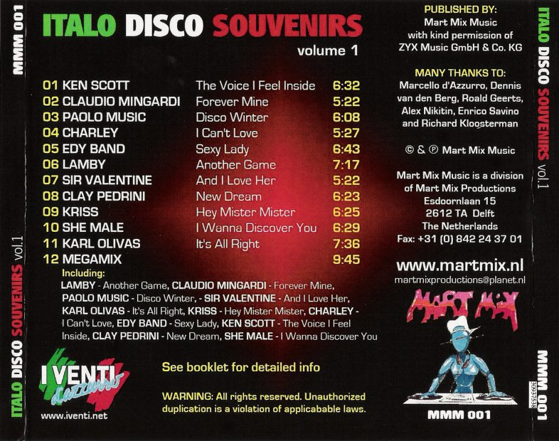 Italo Disco Souvenirs Vol.1