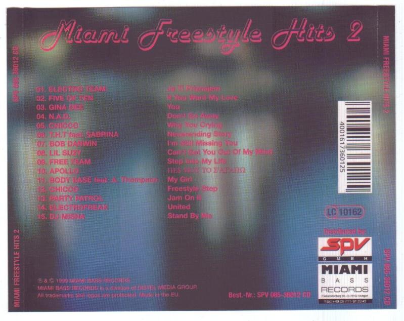 Miami Freestyle Hits Vol.2