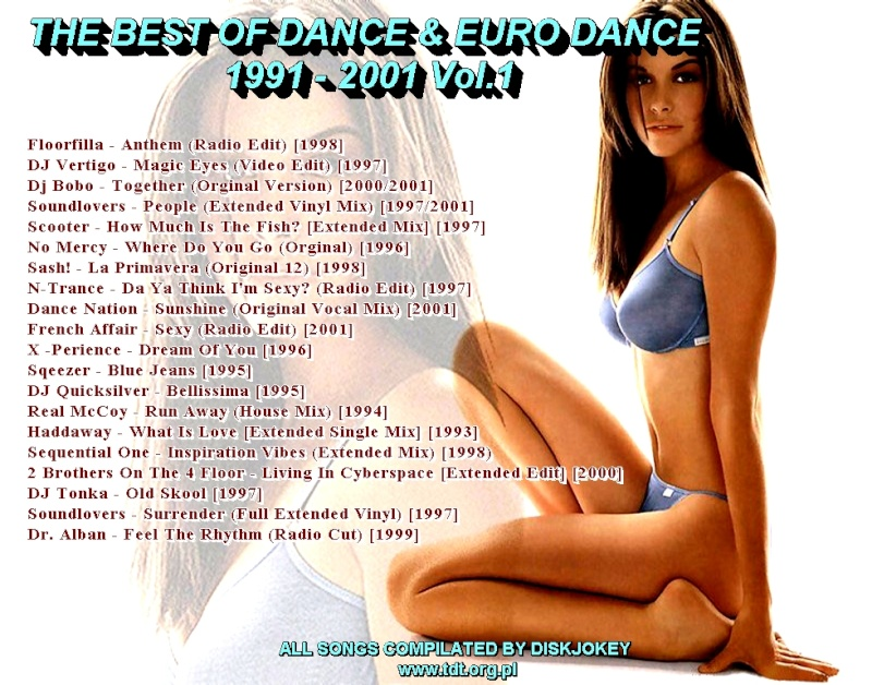 The Best Of Dance & Euro 1991-2001 Vol 1