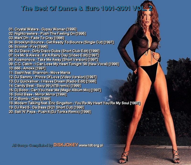 The Best Of Dance & Euro 1991-2001 Vol 2
