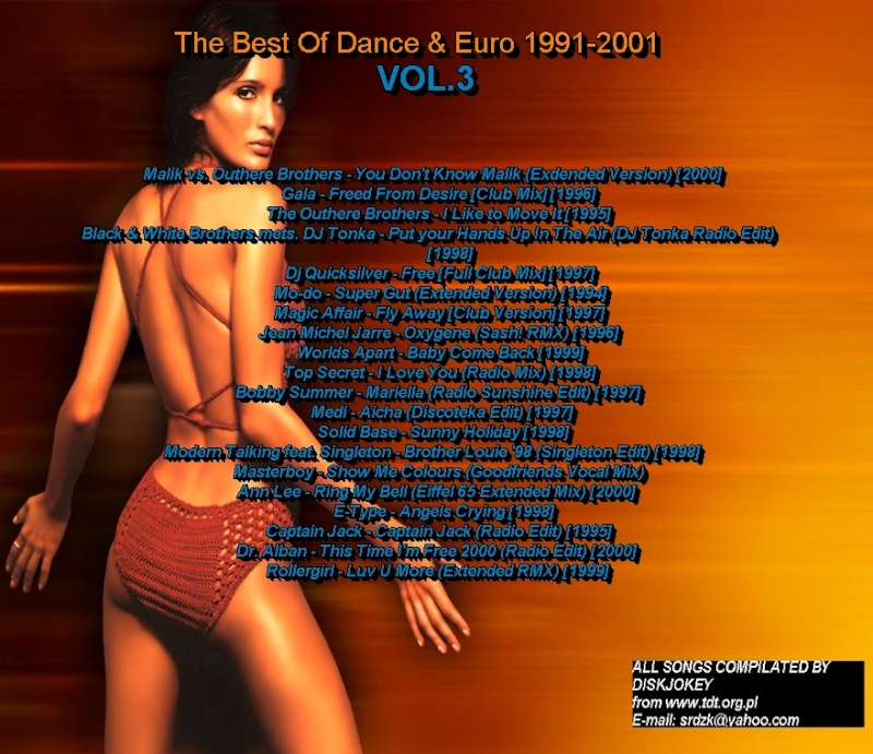 The Best Of Dance & Euro 1991-2001 Vol 3