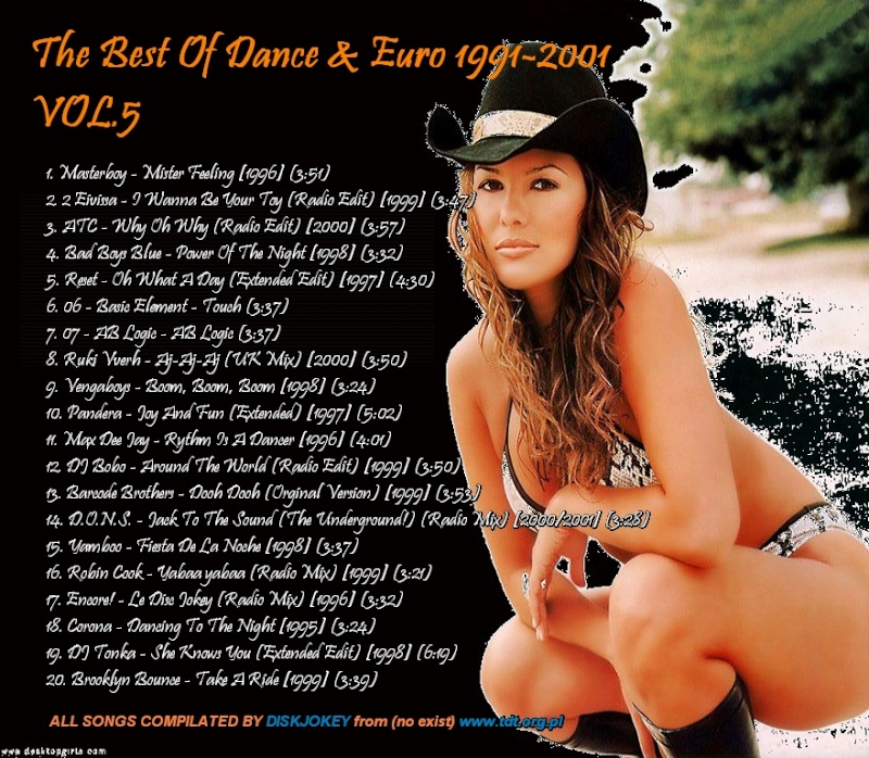 The Best Of Dance & Euro 1991-2001 Vol 5