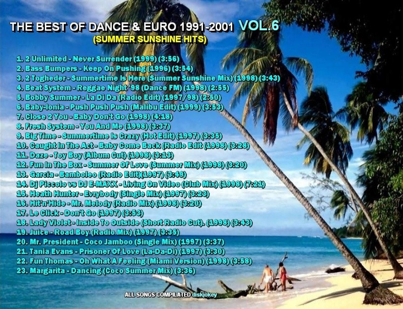 The Best Of Dance & Euro 1991-2001 Vol 6