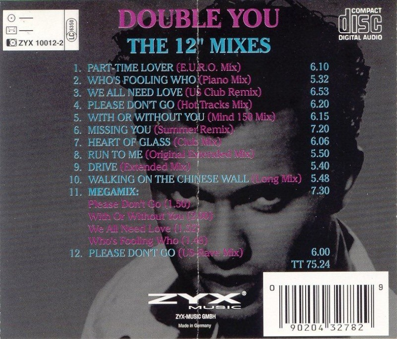 Double You - 12 Inch Mixes