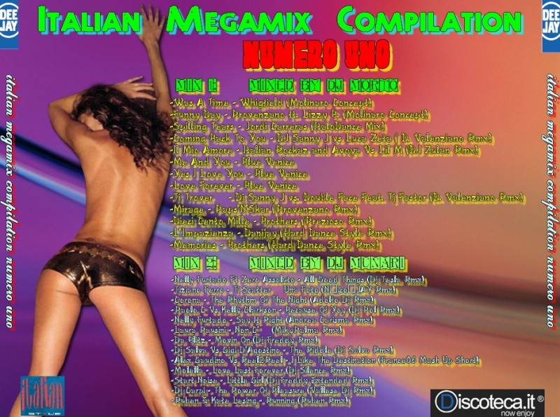 Italian Megamix Compilation Numero Uno