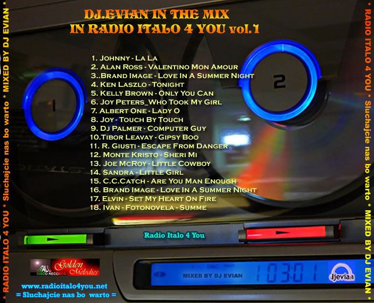 Best Of Mix In Radioitalo4you Vol 1