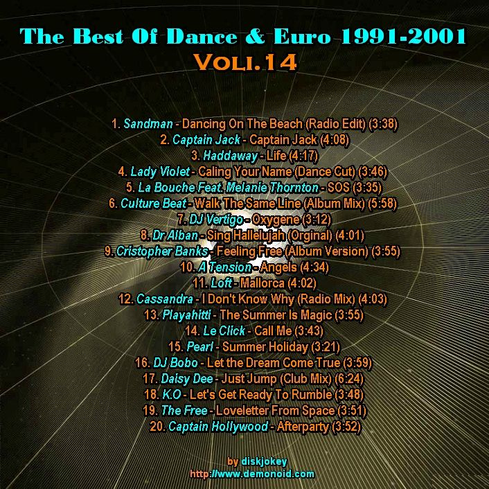 The Best Of Dance & Euro 1991-2001 Vol 14