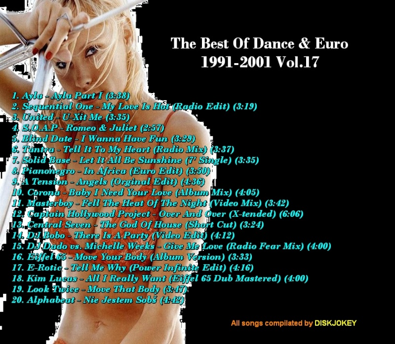 The Best Of Dance & Euro 1991-2001 Vol 17