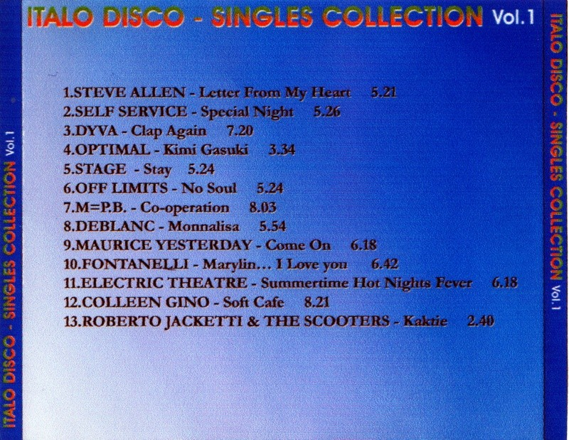 Italo Disco Singles Collection Vol.1