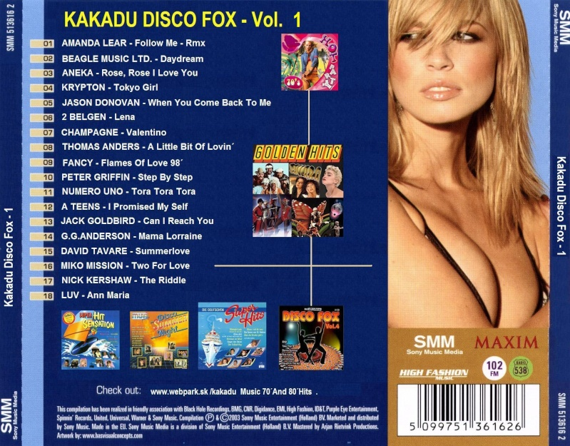 Kakadu Disco Fox Vol.1
