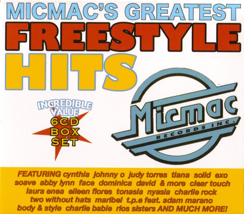 Micmac´s Greatest Freestyle Hits - 6CD Box Set