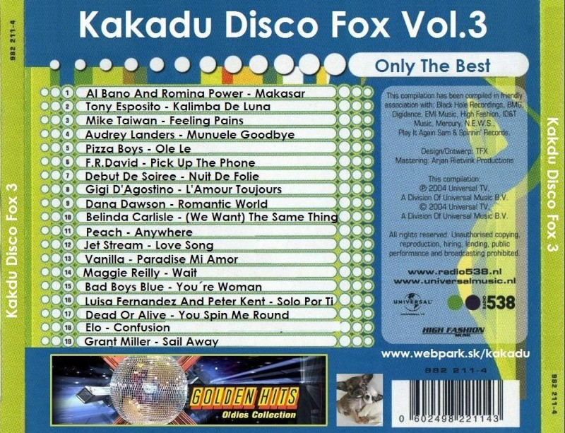 Kakadu Disco Fox Vol.3