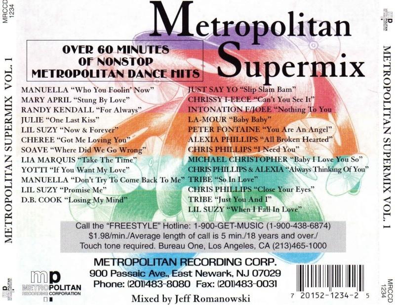 Metropolitan Supermix Vol. 1