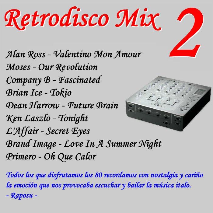 Retrodisco Mix 2