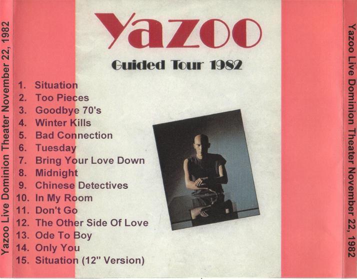 Yazoo live 1982