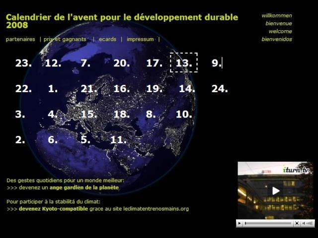 Calendriers de l'Avent éco'virtuels dans CONSOMMER AUTREMENT calend10