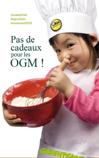 Un guide de Noël des produits avec ou sans OGM dans CONSOMMER AUTREMENT greenp10