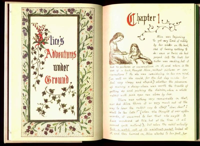 Alice In Wonderland (Alice au pays des Merveilles) dans ELFEEBULATIONS manusc10