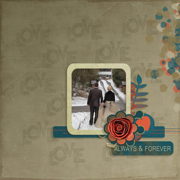 every smile kit digiscrap simplette page leaugoscrap