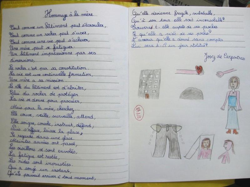 Souvent Un de mes poèmes appris à l'école - LES LETTRES DE MON HLM CU33