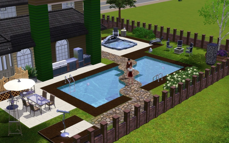 Forum the daily sims le troisi me kit des sims 3 for Exterieur sims 4