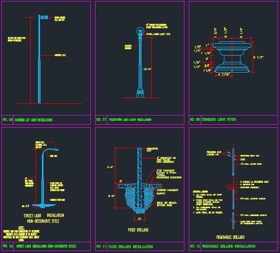 سبعين تفصيلة كهرباء على الاتوكاد General Electrical Details