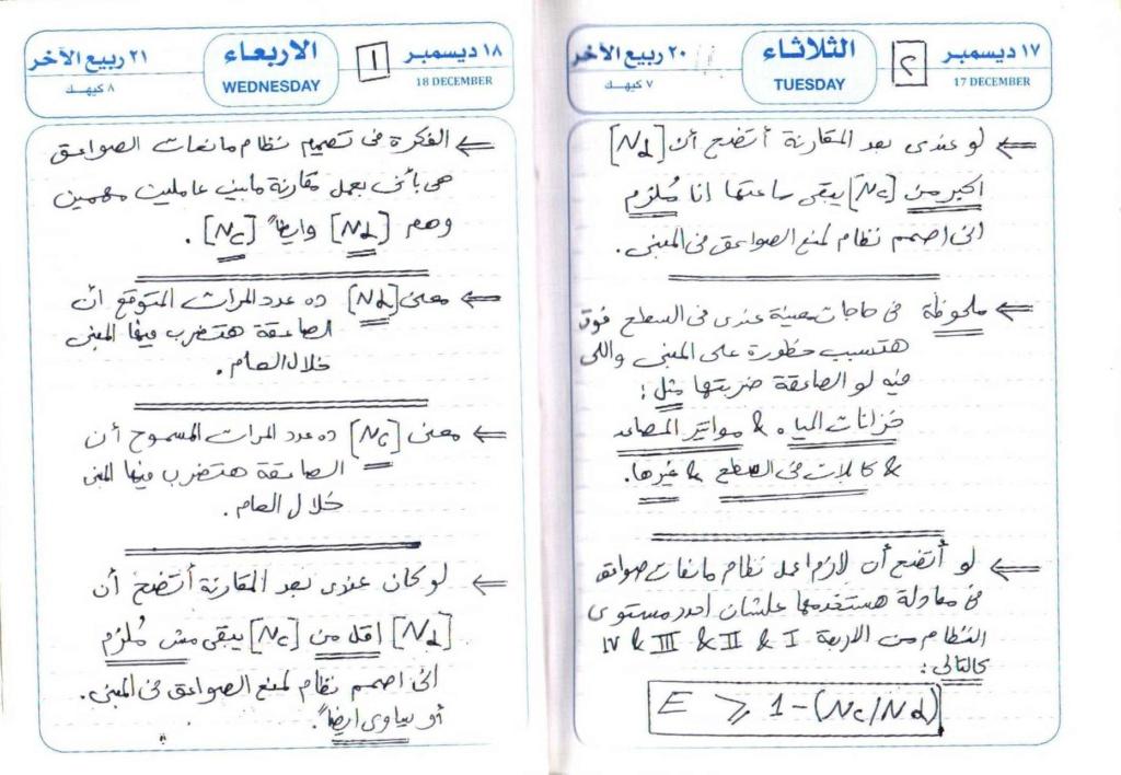 محاضرة باللغة العربية عن نظام الحمايه من الصواعق Lightning Protection System