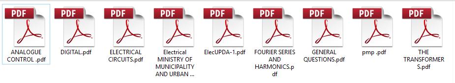 ملفات مهمة جدا لمحتوى اسئلة تصنيف مهندسى الكهرباء بدولة قطر UPDA – MMUP