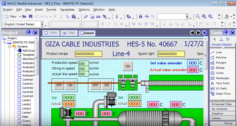 plc s7 300-400 course + Project With HMI