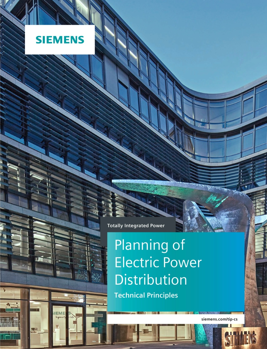 Planning of Electric Power Distribution Technical Principles (Siemens)
