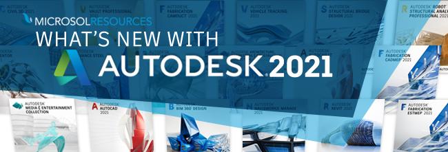 جميع منتجات  Autodesk 2021  للتحميل بروابط مباشرة