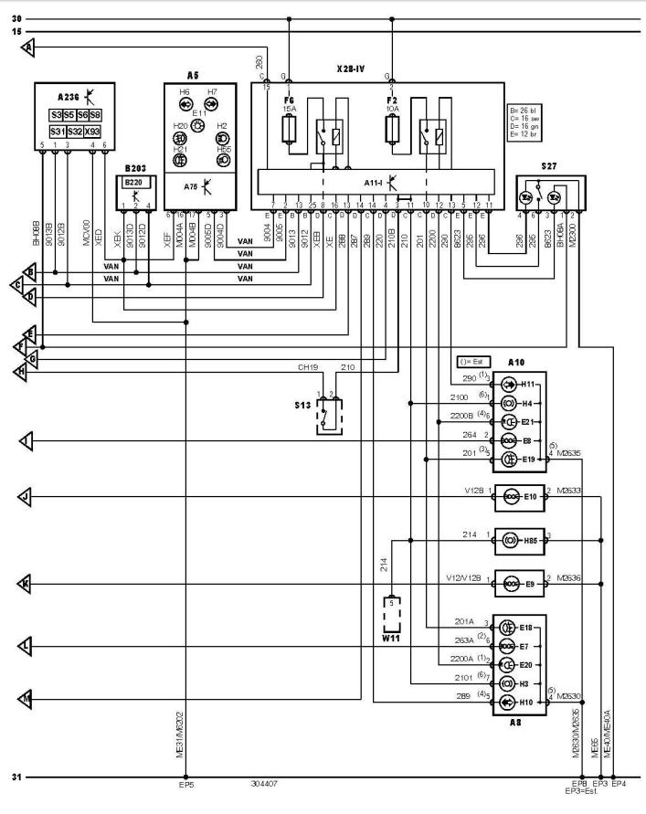 Schema Elettrico Xsara Break : Citroen xsara break hdi cv phase an