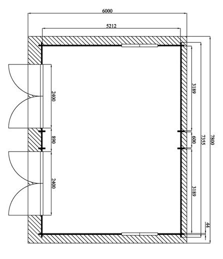 plans pour un petit garage citrokool. Black Bedroom Furniture Sets. Home Design Ideas