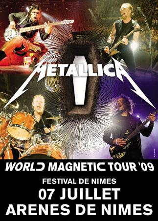 Metallica World Magnetic Tour @ Nîmes