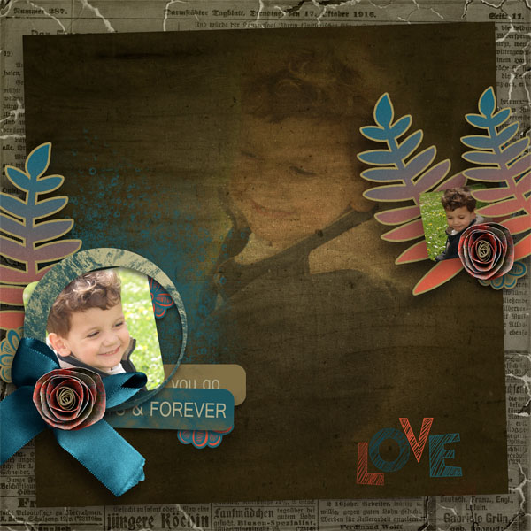 every smile kit digiscrap simplette page sarayane