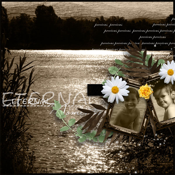 terre d'ombre kit simplette page sarayane