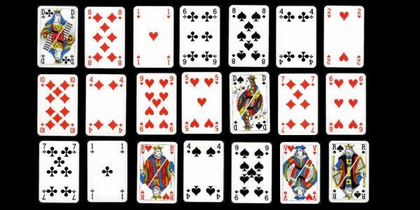 La cartomancie - Tirage en coupe 52 cartes ...