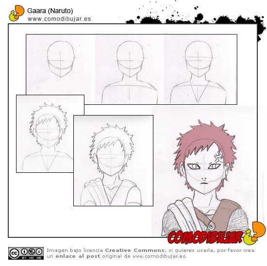 Como Dibujar A Los Personajes De Naruto Paso A Paso