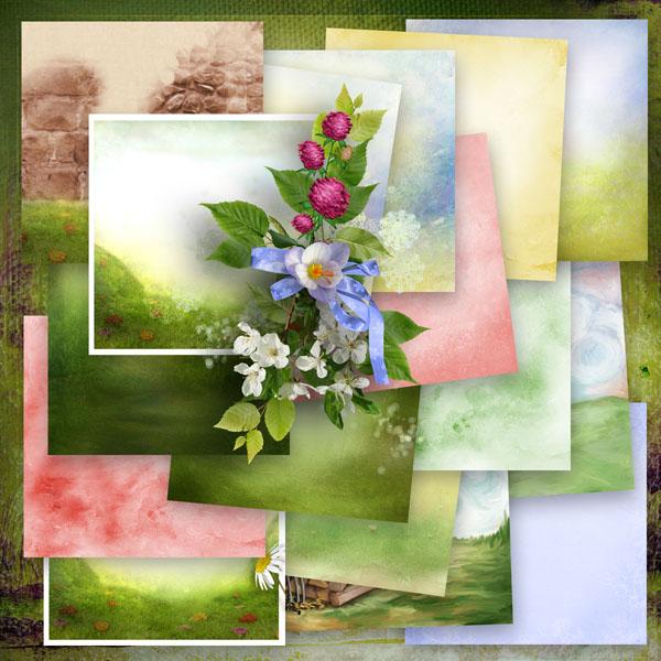 Le digiscrap de mayasa mon jardin fleuri by le petit scrap - Idee petit jardin fleuri brest ...