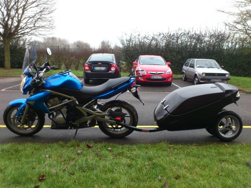 Remorque Genco Pour Moto Promotion 123 Remorque