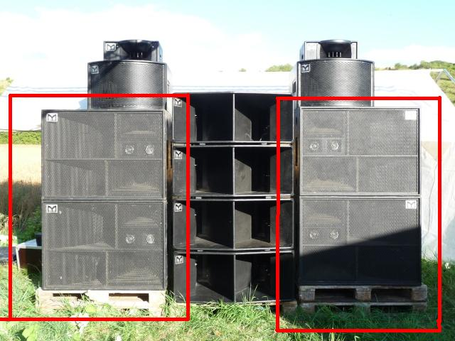 dirty monkey sound system psychoquake vend ses caissons martin audio 1200 la paire. Black Bedroom Furniture Sets. Home Design Ideas