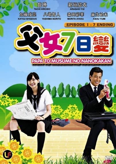 Papa To Musume No Nanokakan /Baba ve K�z�n�n Yedi G�n� /2007 / JP /Mp4 / TR Altyaz�l�
