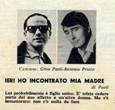 Gino Paoli - Ieri Ho Incontrato Mia Madre / Ricordati