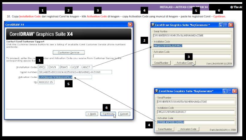 SELAMAT DATANG: Cara menginstall CorelDRAW X4 & Cara