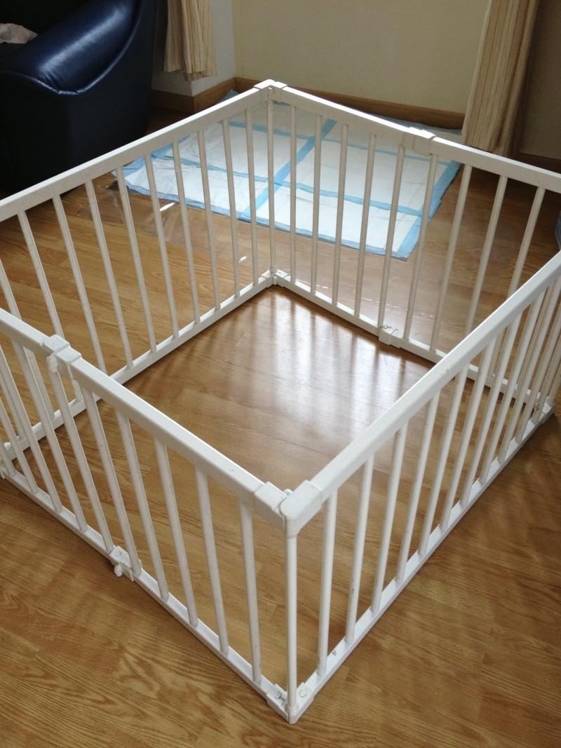 id e de comment faire un parc a chiot. Black Bedroom Furniture Sets. Home Design Ideas