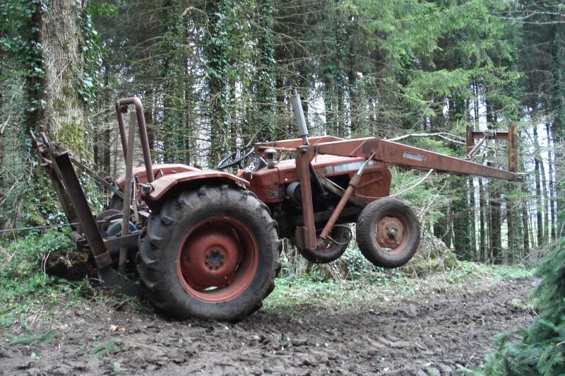 Montage forestier MB trac 800 ~ Fendeuse A Bois Occasion Pour Tracteur
